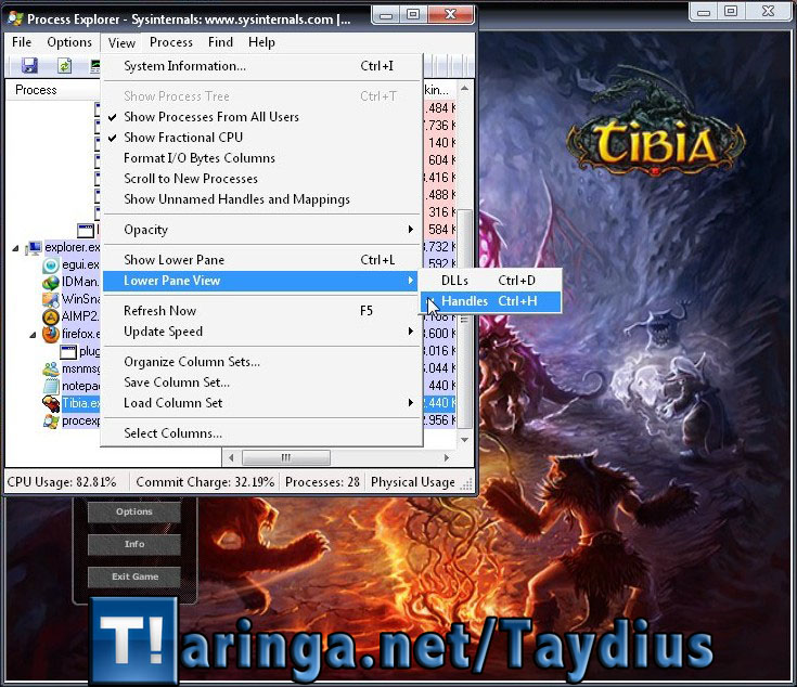 Tibia multiclient cualquier version 8.00+ (tutorial hacer)