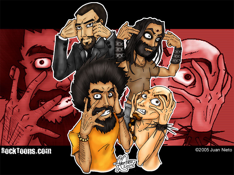 Imagenes de system of a down