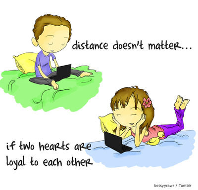 Love Quotes For Him Cartoon : Hay que tener en cuenta que mantener una relacion a distancia depende ...