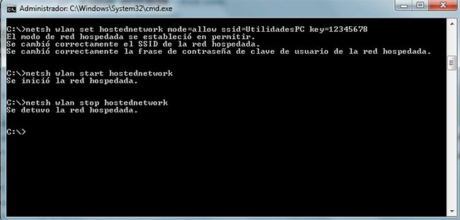 Crear una red wifi usando el pc como router en windows