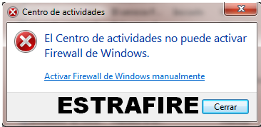 [Guía] Activar Firewall en Windows 7