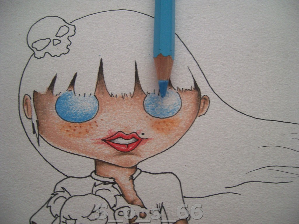 Dibujo y Tutorial de Boceto y Color
